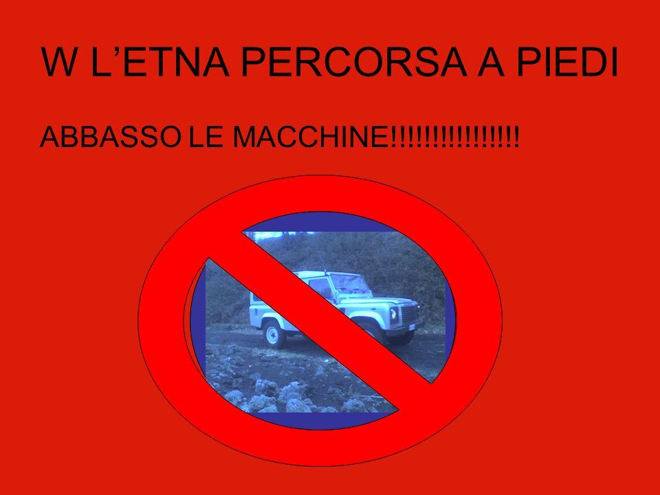 W LETNA PERCORSA A PIEDI ABBASSO LE MACCHINE!!!!!!!!!!!!!!!!