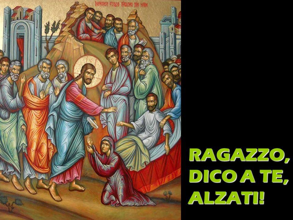 RAGAZZO, DICO A TE, ALZATI!