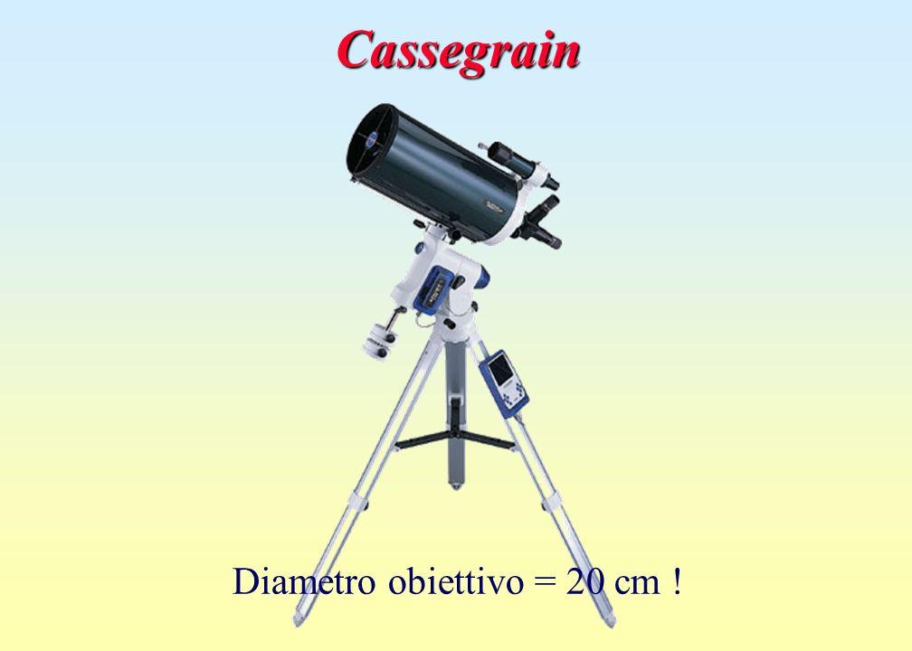 CassegrainCassegrain Diametro obiettivo = 20 cm !