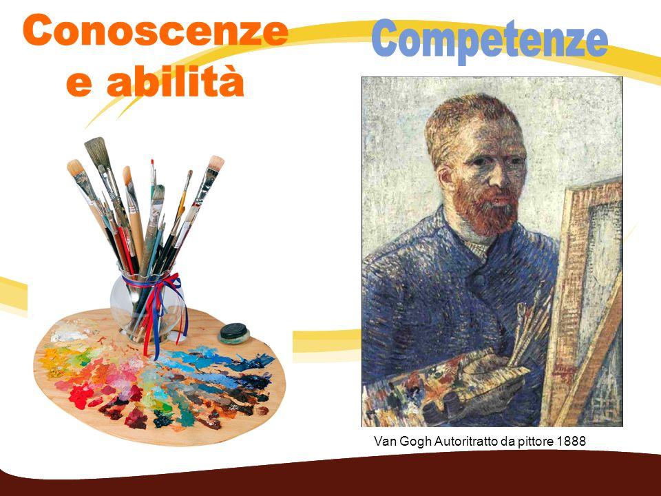Van Gogh Autoritratto da pittore 1888