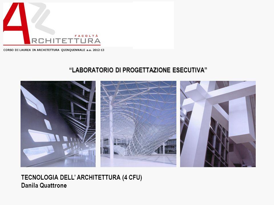 CORSO DI LAUREA IN ARCHITETTURA QUINQUENNALE a.a.