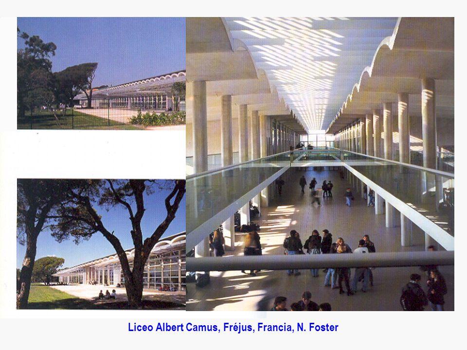 Liceo Albert Camus, Fréjus, Francia, N. Foster