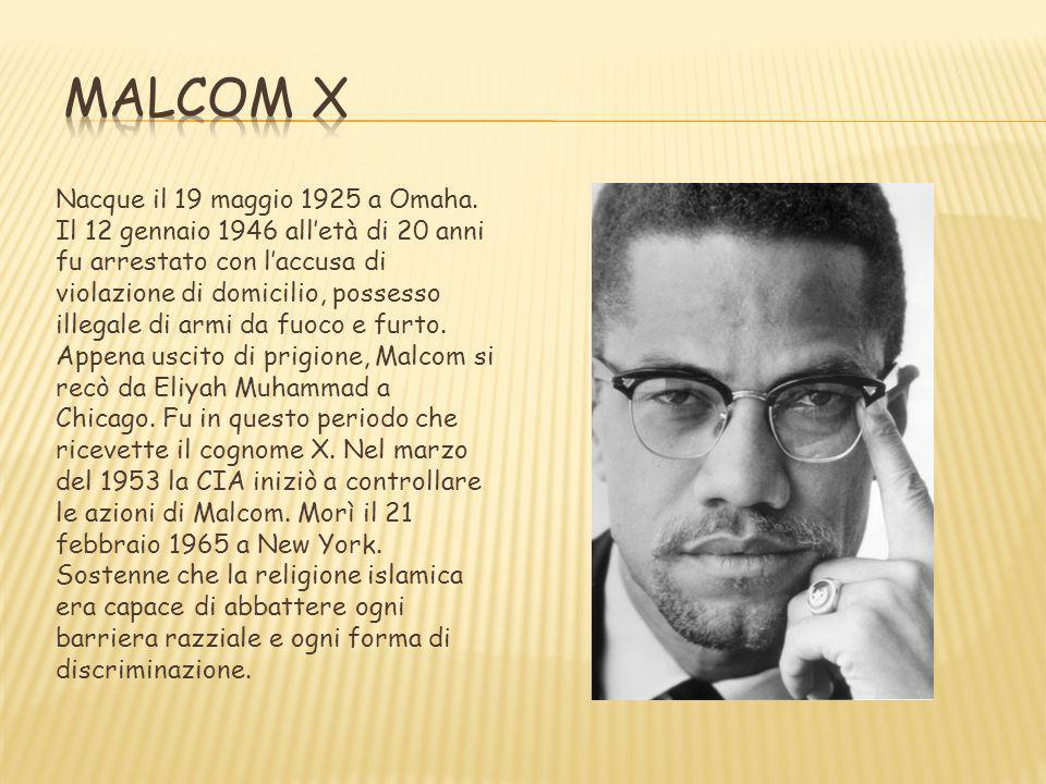 Nacque il 19 maggio 1925 a Omaha. Il 12 gennaio 1946 alletà di 20 anni fu arrestato con laccusa di violazione di domicilio, possesso illegale di armi