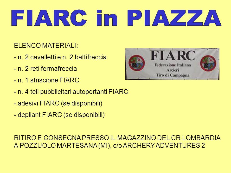 Pubblicazione sul sito CR Lombardia degli inviti e dei resoconti delle manifestazioni