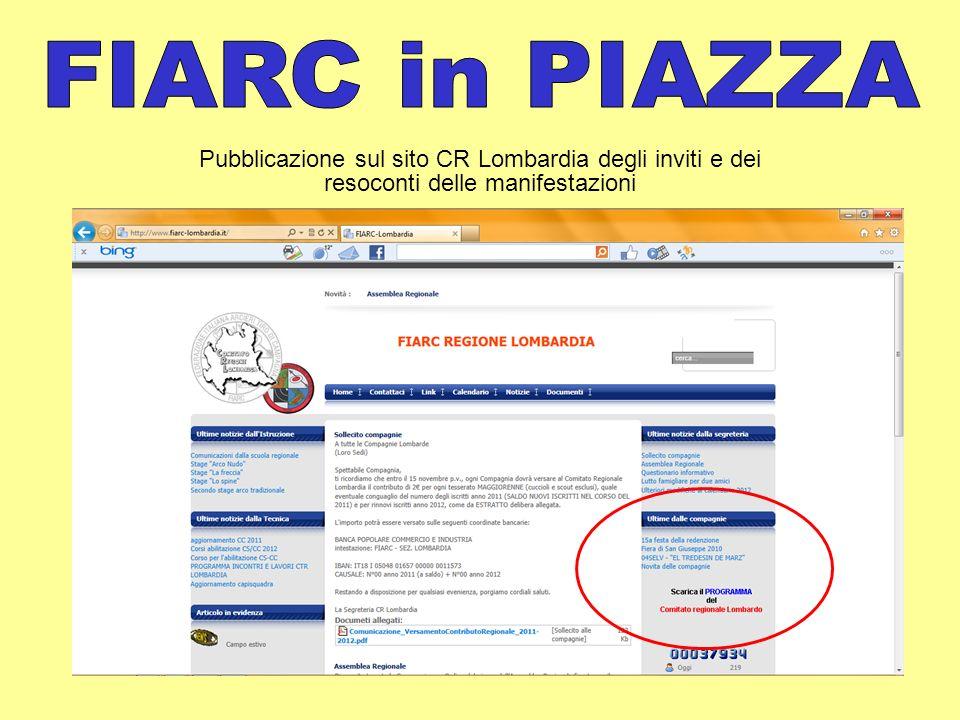 Location: - Ranzanico (BG) Periodo: - dal 24 al 26 giugno (Cuccioli) - dal 1 al 3 luglio (Scout) Partner: - Centro Sportivo di Ranzanico - Assessorato allo Sport del Comune di Ranzanico Gestione operativa: - Istruttore Nazionale FIARC: Igor Piantoni - Istruttori Regionali FIARC: Andrea Mulattieri e Dimitri Maffiuletti