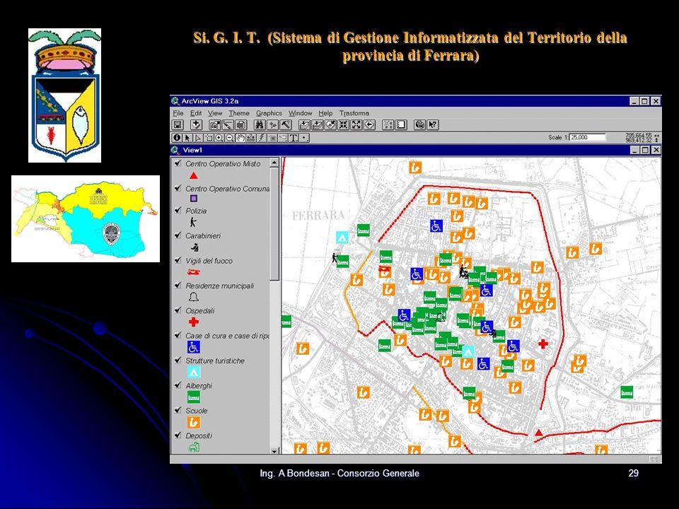 Ing. A Bondesan - Consorzio Generale28