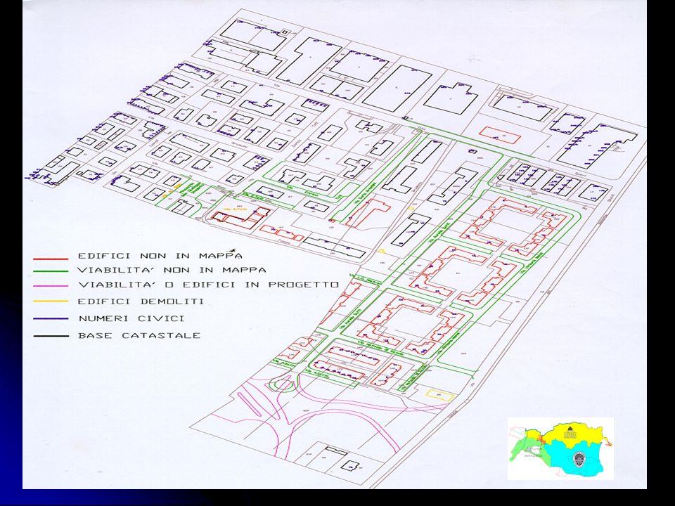 Ing. A Bondesan - Consorzio Generale3 1 - Vettorializzazione delle mappe catastali: Viene effettuata digitalizzando attraverso AutoCAD i raster dei fo