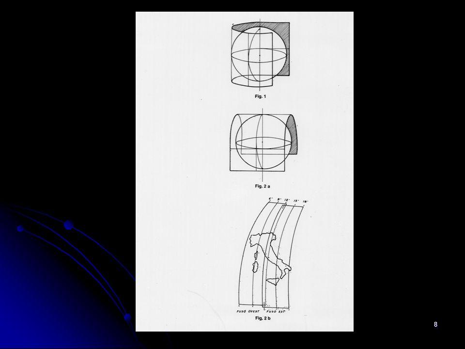 Ing. A Bondesan - Consorzio Generale7 2 - CARTA TECNICA REGIONALE – Algoritmi di passaggio Cassini Soldner – Gauss Boaga