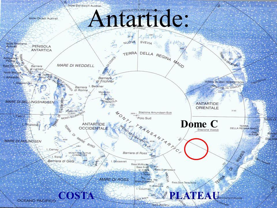 Antartide: Dome C COSTAPLATEAU