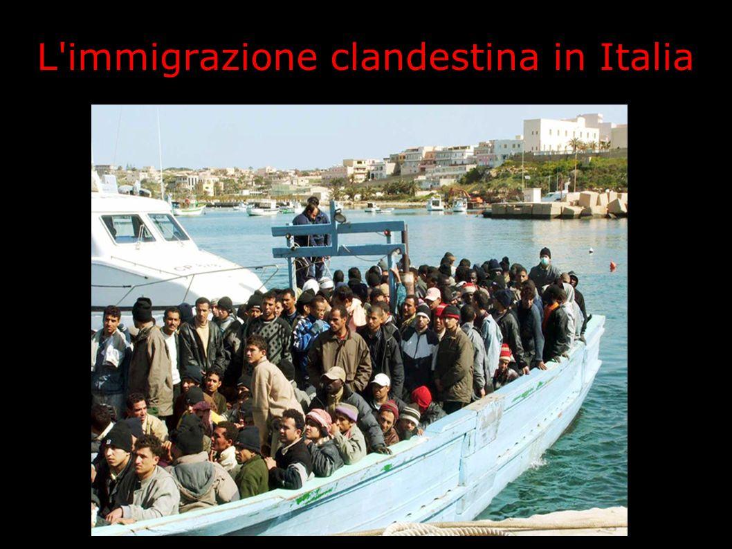 L'immigrazione clandestina in Italia