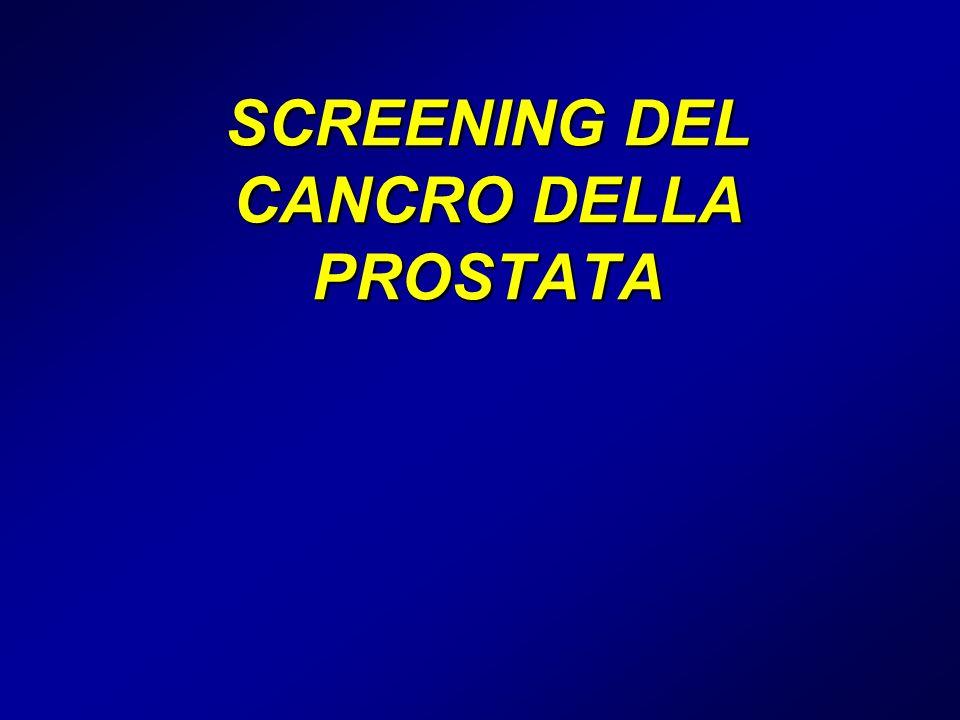 SCREENING DEL CANCRO DELLA PROSTATA