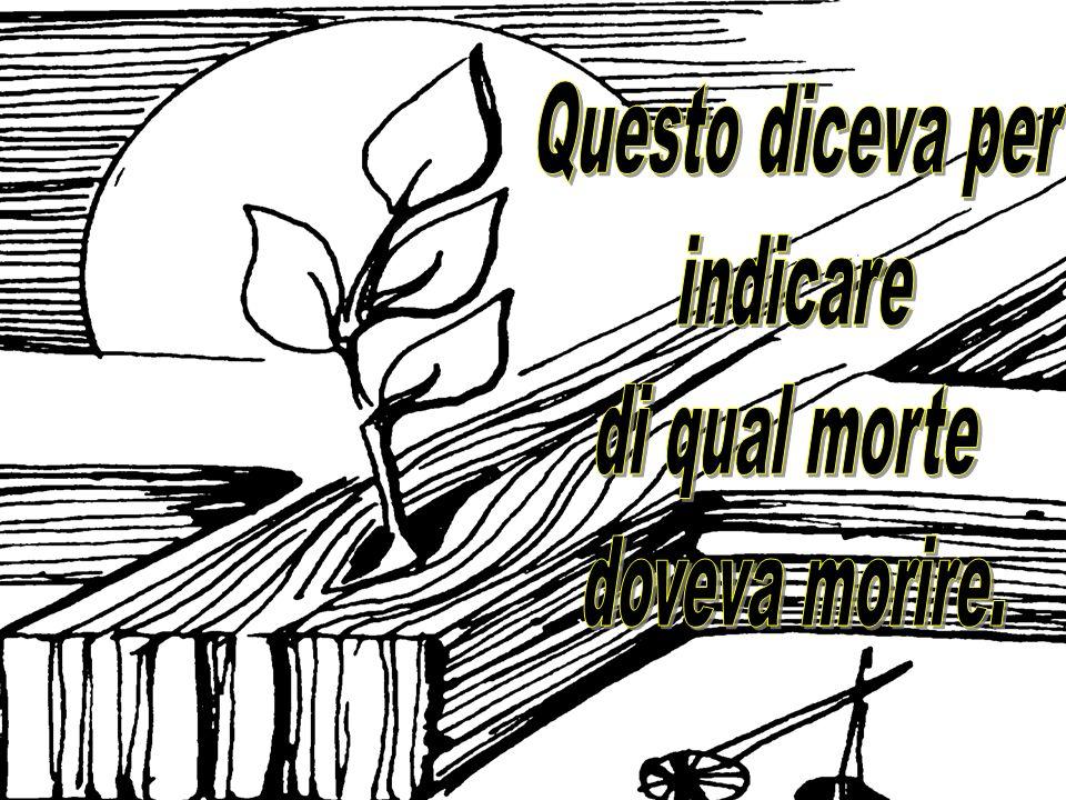 GESÙ SIGNORE, fa che la Tua GLORIFICAZIONE e la nostra, abbiano come sfondo la VITA del chicco di grano, che rinasce dopo essere stato sepolto nel cuo