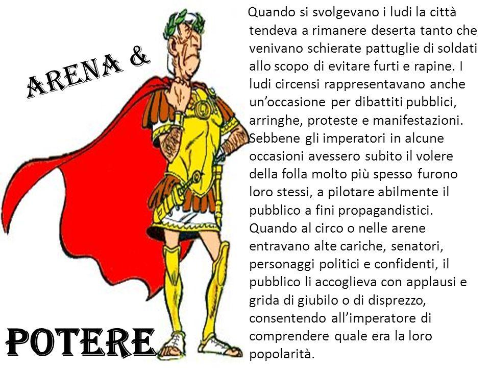 Il circo e le corse con i carri A Roma gli aurighi erano ancora più famosi del gladiatori, in quanto i cittadini potevano anche scommettere. Data la c
