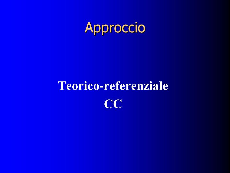 Approccio Teorico-referenziale CC