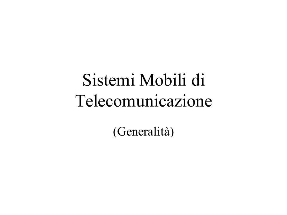 Sistemi Mobili di Telecomunicazione (Generalità)
