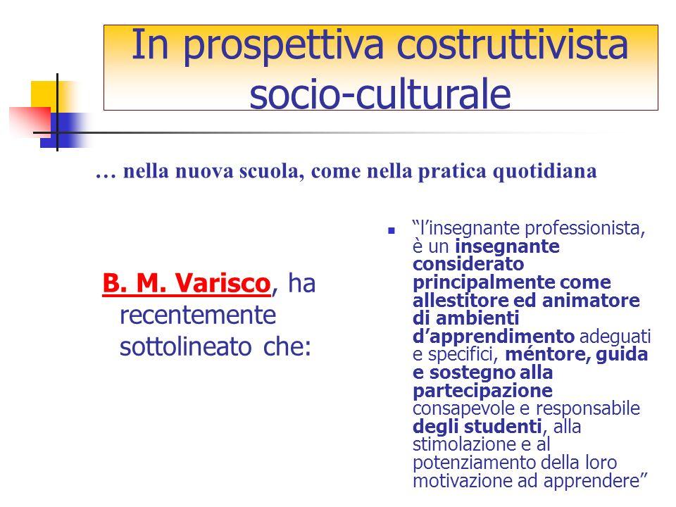 B. M. Varisco, ha recentemente sottolineato che:B.