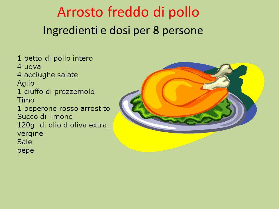 Preparazione Dividete il petto di pollo in 2 scartando lossicino centrale,poi aprite a libro i 2 mezzi petti e staccate ad ogni fetta il relativo filettino.
