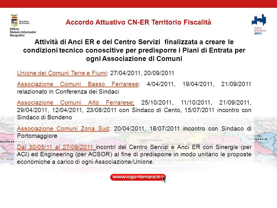 Accordo Attuativo CN-ER Territorio Fiscalità ACSOR – cosa fa il Centro Servizi.