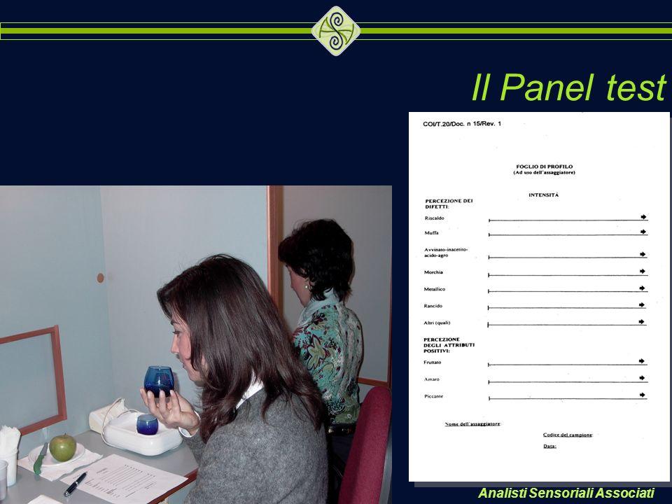 Analisti Sensoriali Associati Il Panel test