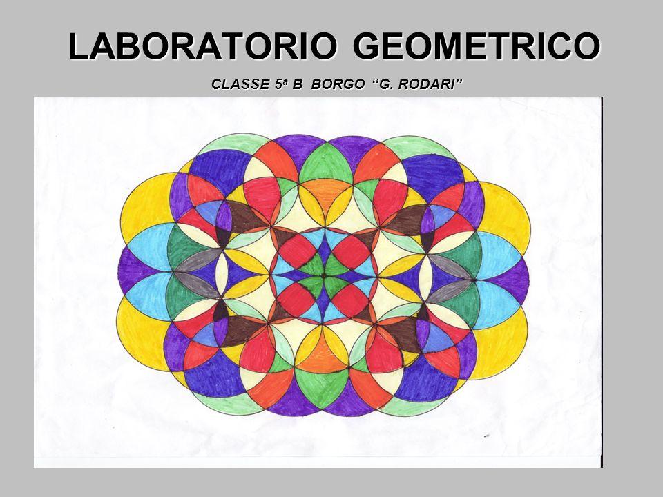 LABORATORIO GEOMETRICO CLASSE 5 a B BORGO G. RODARI