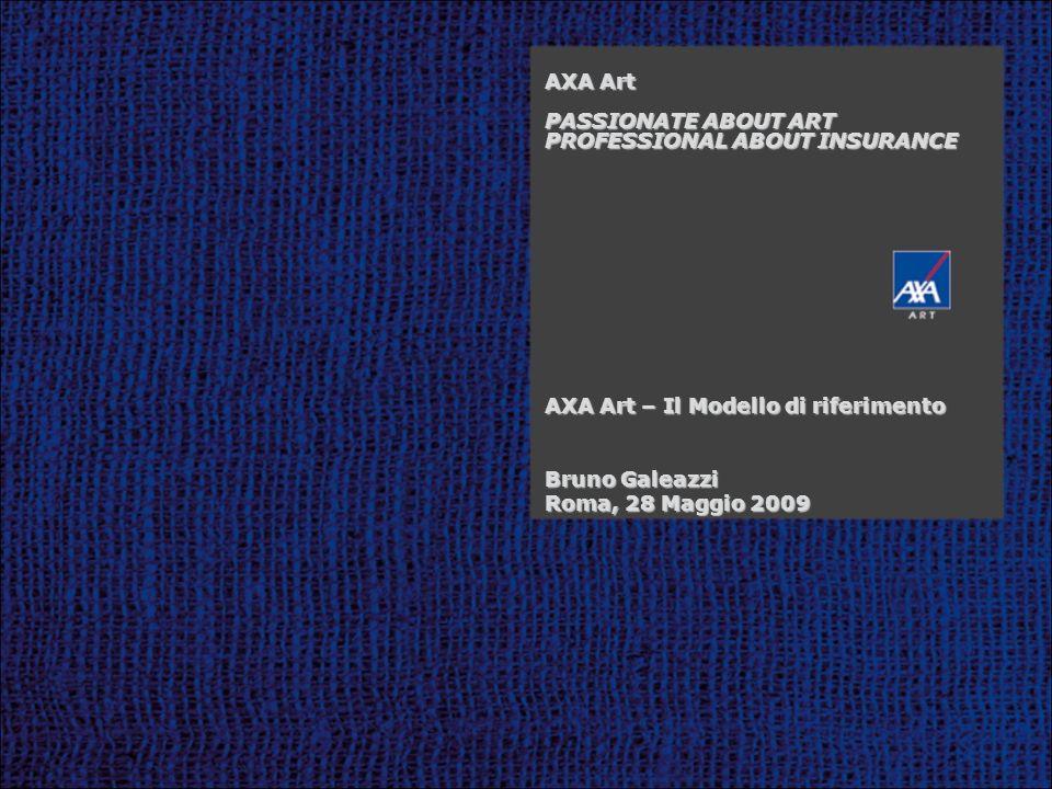 Transit Agreement Standard di qualità Processi certificati Imballaggi adeguati Tecnologie davanguardia AXA Art e la gestione integrata della sicurezza GRASP Standard di sicurezza Piattaforma int.