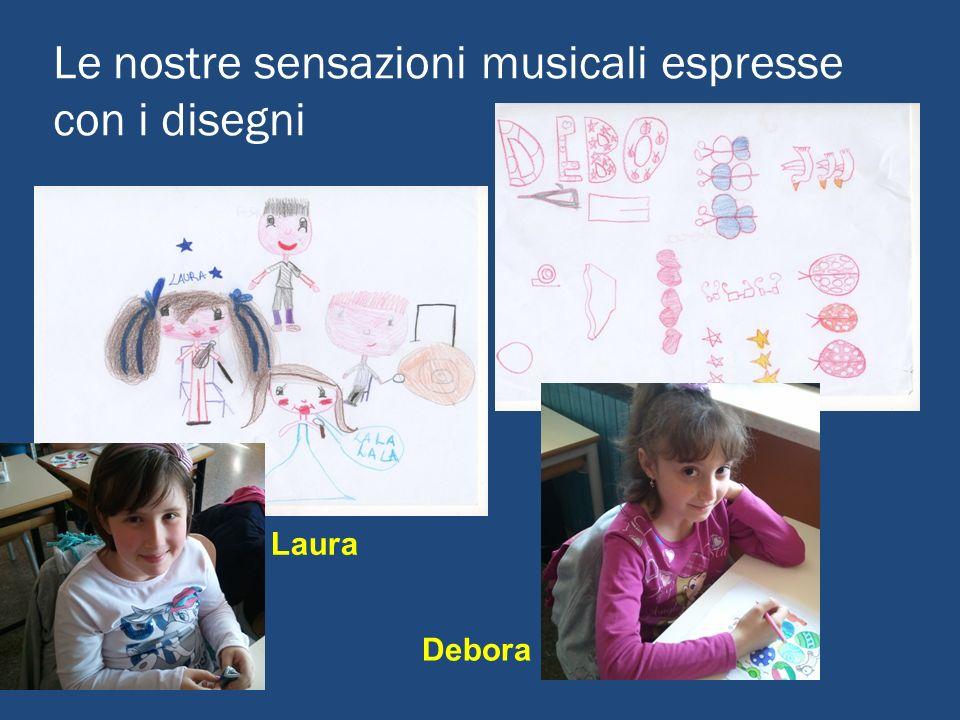 Le nostre sensazioni musicali espresse con i disegni Laura Debora