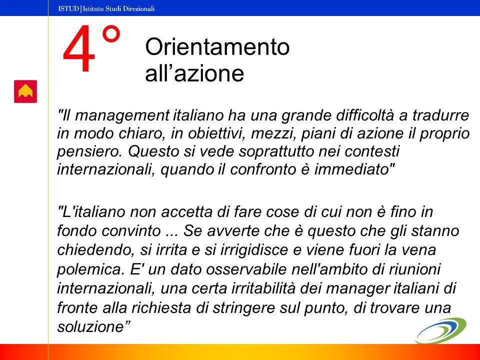 Il management italiano ha una grande difficoltà a tradurre in modo chiaro, in obiettivi, mezzi, piani di azione il proprio pensiero.
