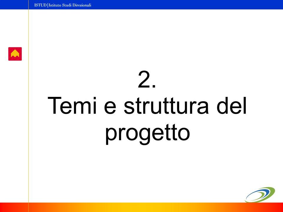 2. Temi e struttura del progetto