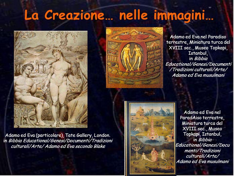 La Creazione… nelle immagini… Adamo ed Eva (particolare), Tate Gallery, London. in Bibbia Educational/Genesi/Documenti/Tradizioni culturali/Arte/ Adam