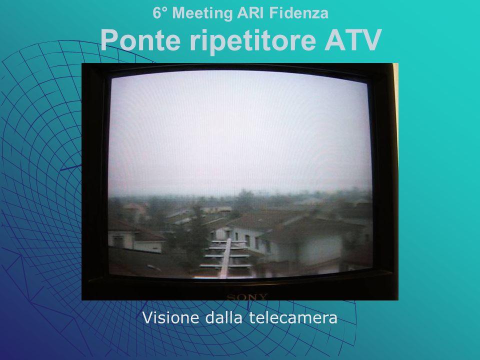 Visione dalla telecamera 6° Meeting ARI Fidenza Ponte ripetitore ATV