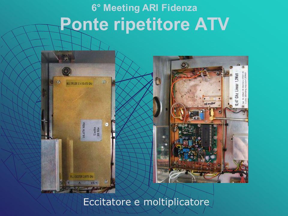 Eccitatore e moltiplicatore 6° Meeting ARI Fidenza Ponte ripetitore ATV