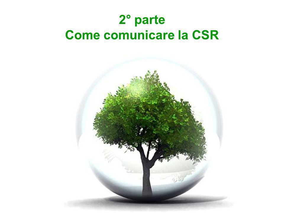 2° parte Come comunicare la CSR