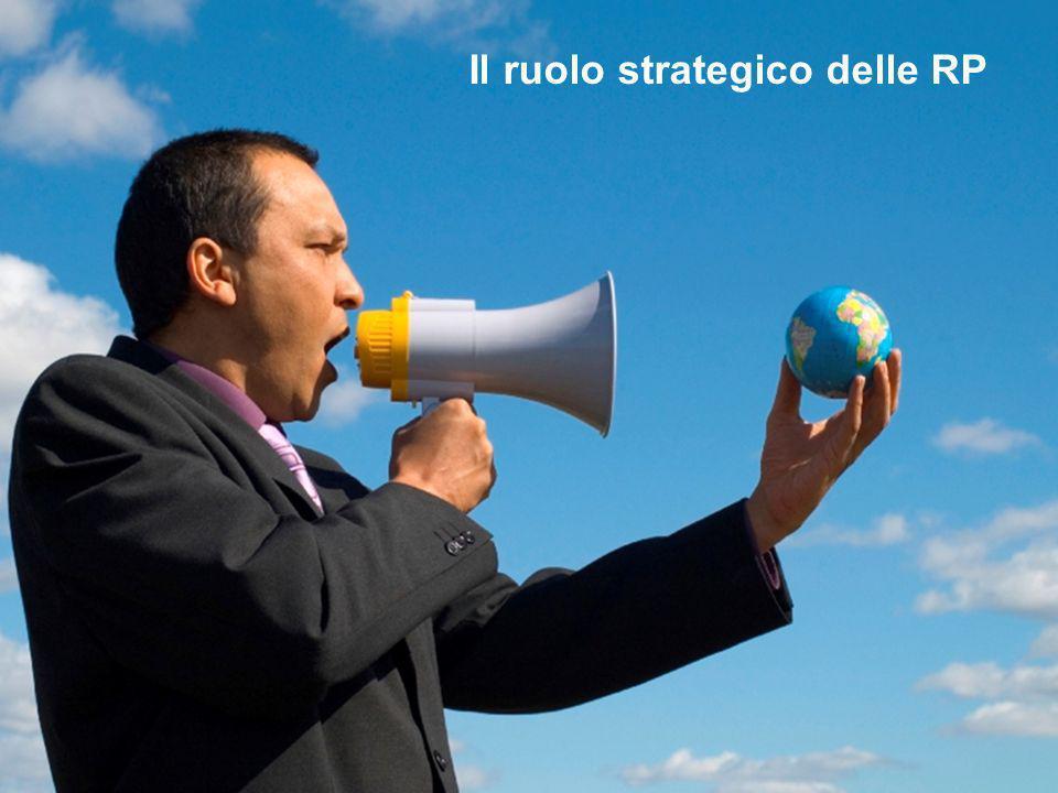 Il ruolo strategico delle RP