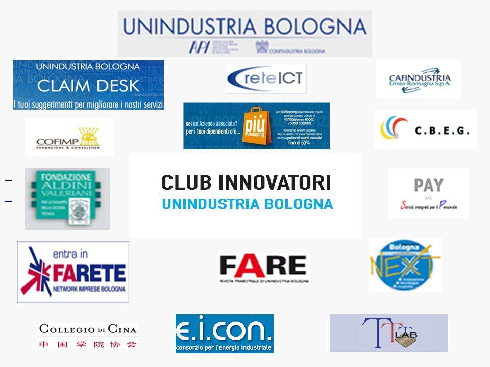 Scopo del Club è lo stimolo all Innovazione di prodotto/servizio, di processo e di organizzazione aziendale, ovvero all Innovazione a 360 gradi.