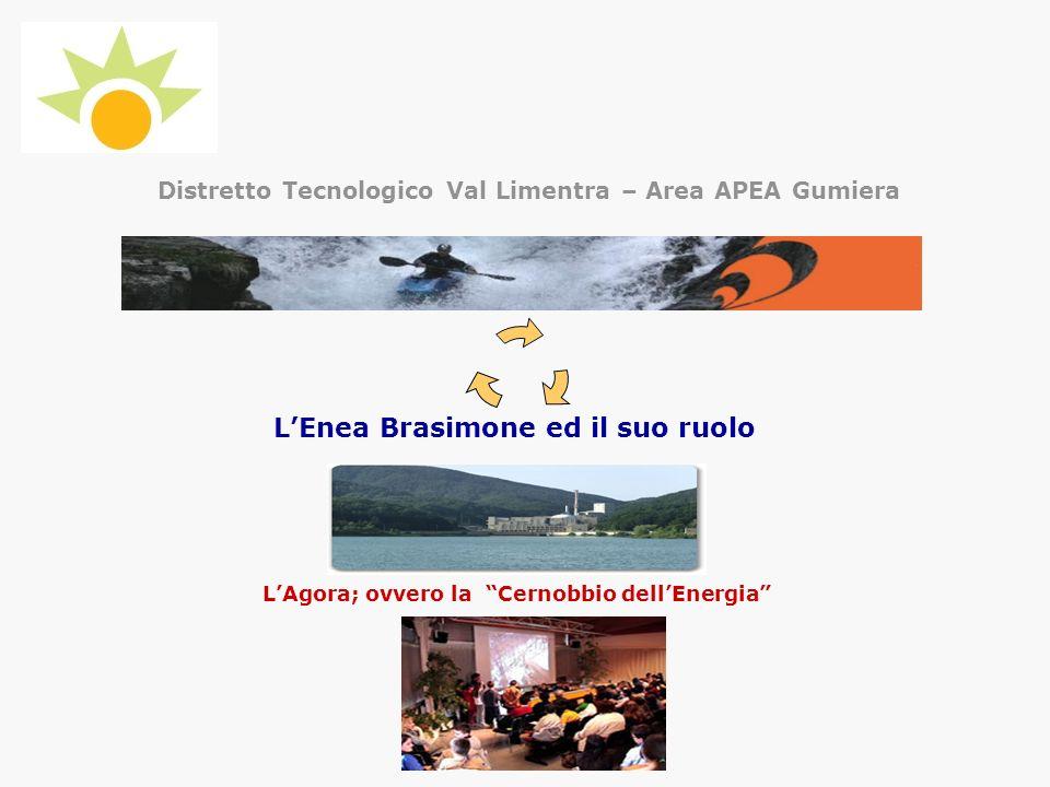Distretto Tecnologico Val Limentra – Area APEA Gumiera LEnea Brasimone ed il suo ruolo LAgora; ovvero la Cernobbio dellEnergia