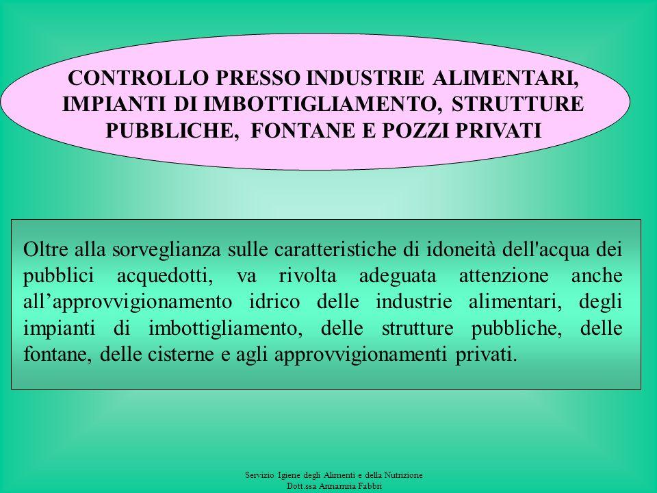 Servizio Igiene degli Alimenti e della Nutrizione Dott.ssa Annamria Fabbri INFORMAZIONE La tempestiva informazione ai consumatori relativamente a tutt