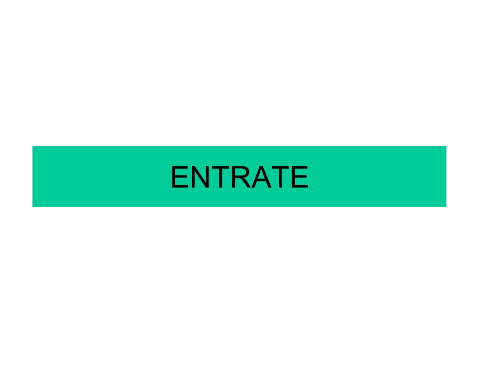 ENTRATE