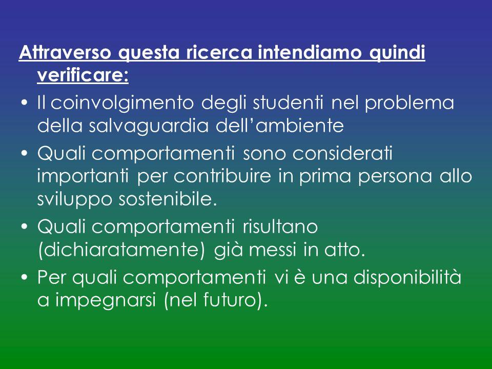 Si ; 7% No; 93% In Italia c è un adeguato rispetto per l ambiente?