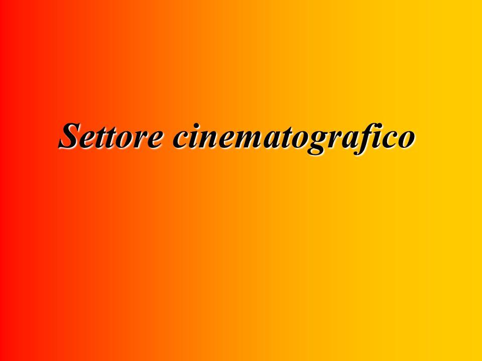 Settore cinematografico