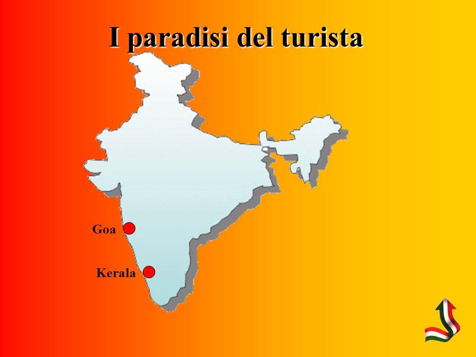 I paradisi del turista Kerala Goa