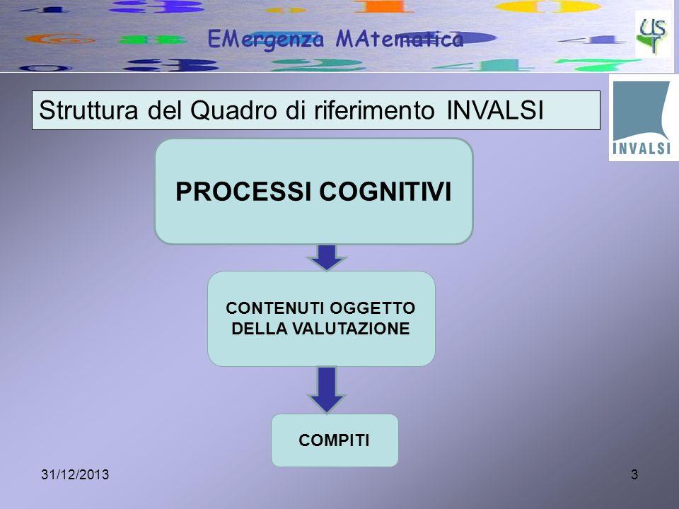 4 1.Conoscere e padroneggiare contenuti specifici della matematica ( oggetti matematici, proprietà, strutture...