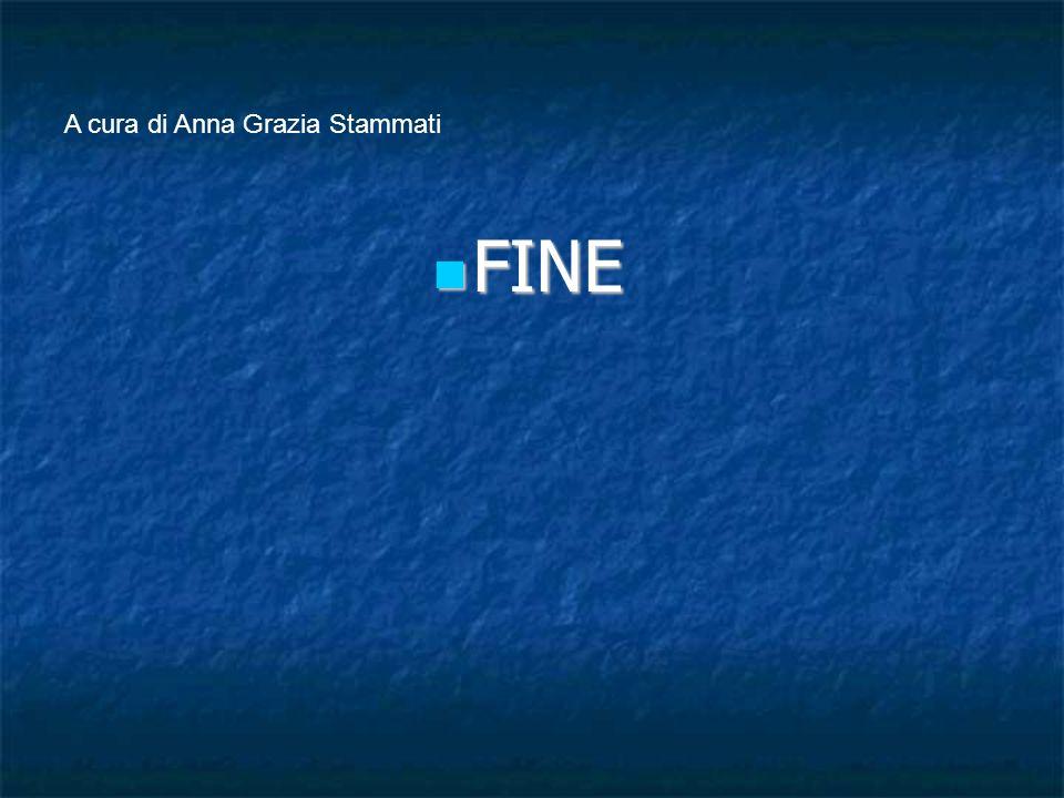 A cura di Anna Grazia Stammati FINE FINE