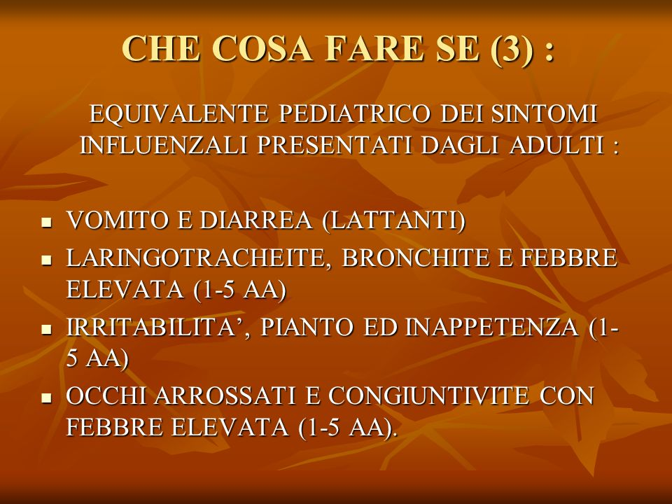 DEFINIZIONE DI CASO SOSPETTO (circolare Min.