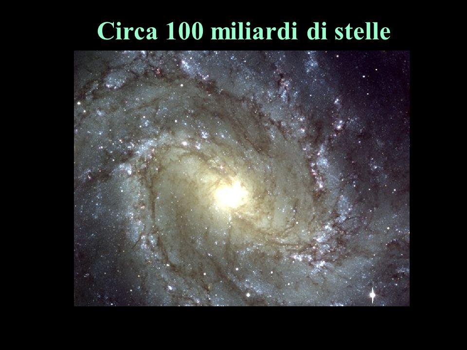 Circa 100 miliardi di stelle