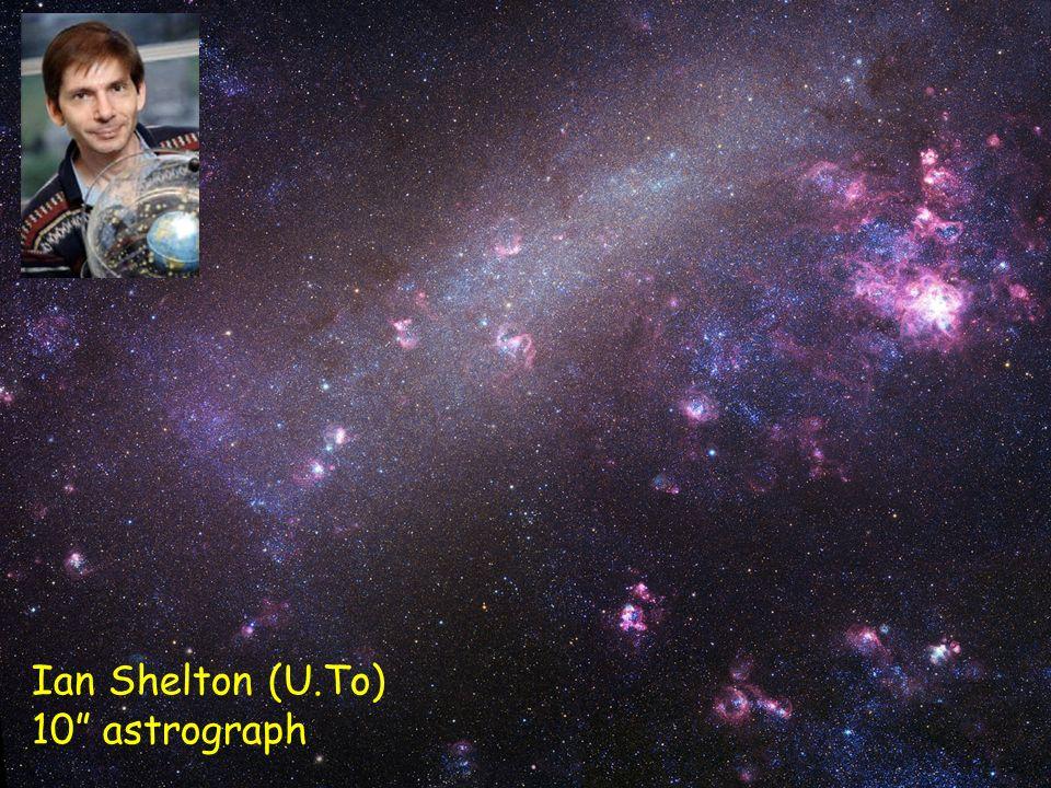 Piero GaleottiBologna, 6 Ottobre 2008 45 Ian Shelton (U.To) 10 astrograph