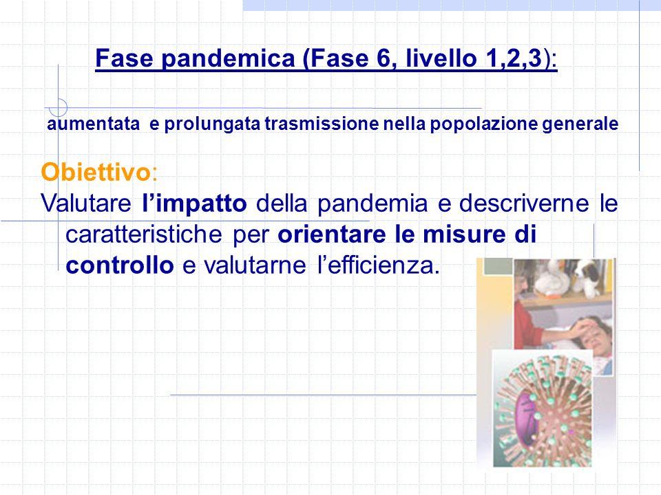 aumentata e prolungata trasmissione nella popolazione generale Obiettivo: Valutare limpatto della pandemia e descriverne le caratteristiche per orient