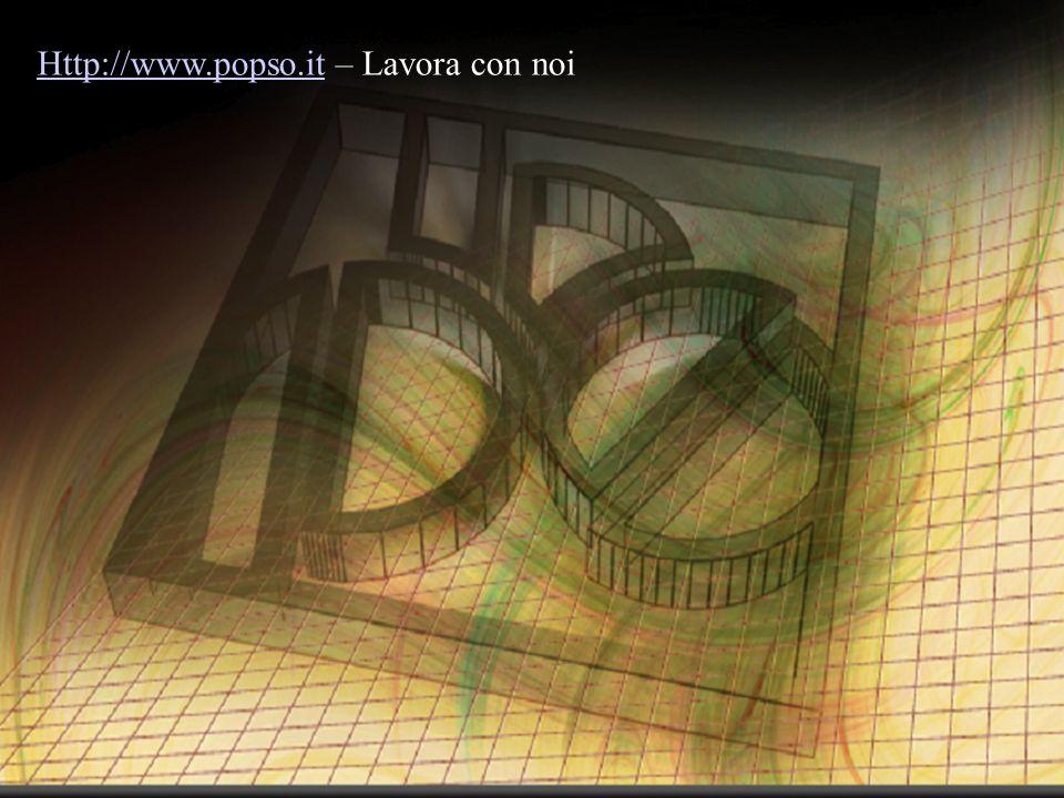 Http://www.popso.itHttp://www.popso.it – Lavora con noi