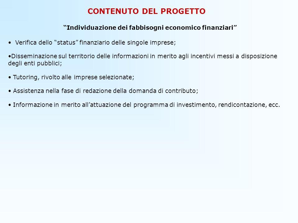 CONTENUTO DEL PROGETTO 5) Obiettivi del Progetto Lobiettivo primario del progetto COME ON .