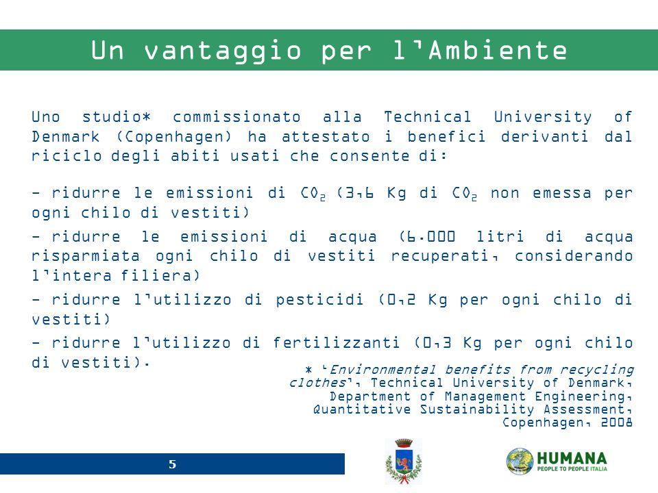 6 Il Valore Ecologico I contenitori posizionati sul territorio del Comune di Muscoline hanno contribuito alla tutela dellambiente grazie alla riduzione delle emissioni inquinanti.