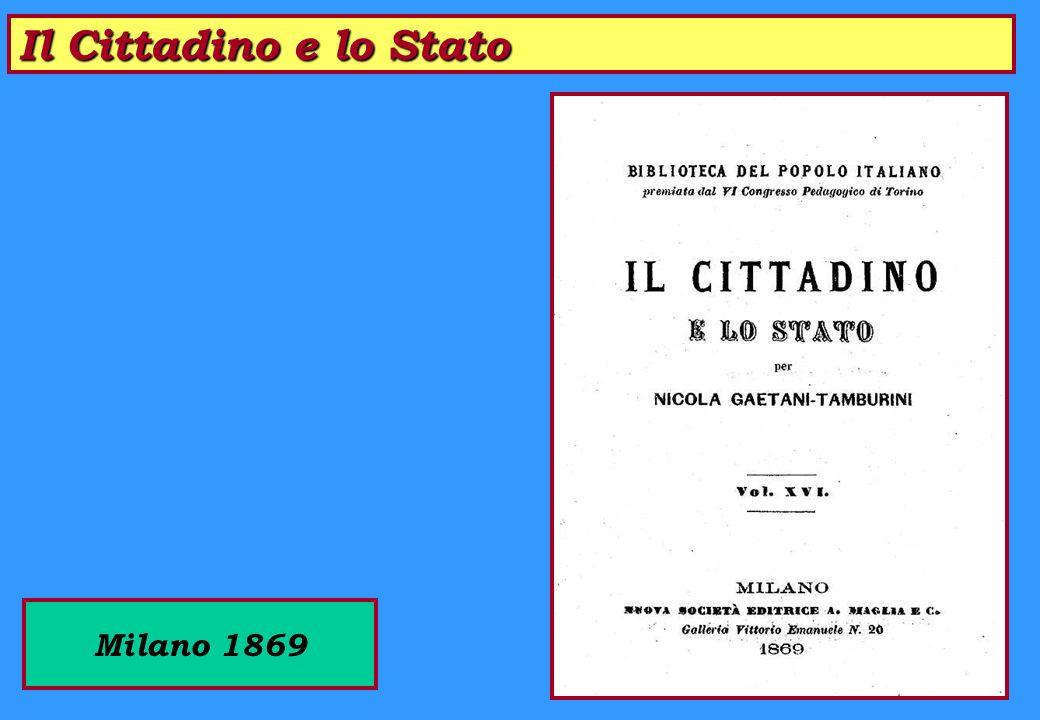 Istruzione del Popolo in USA Brescia 1866